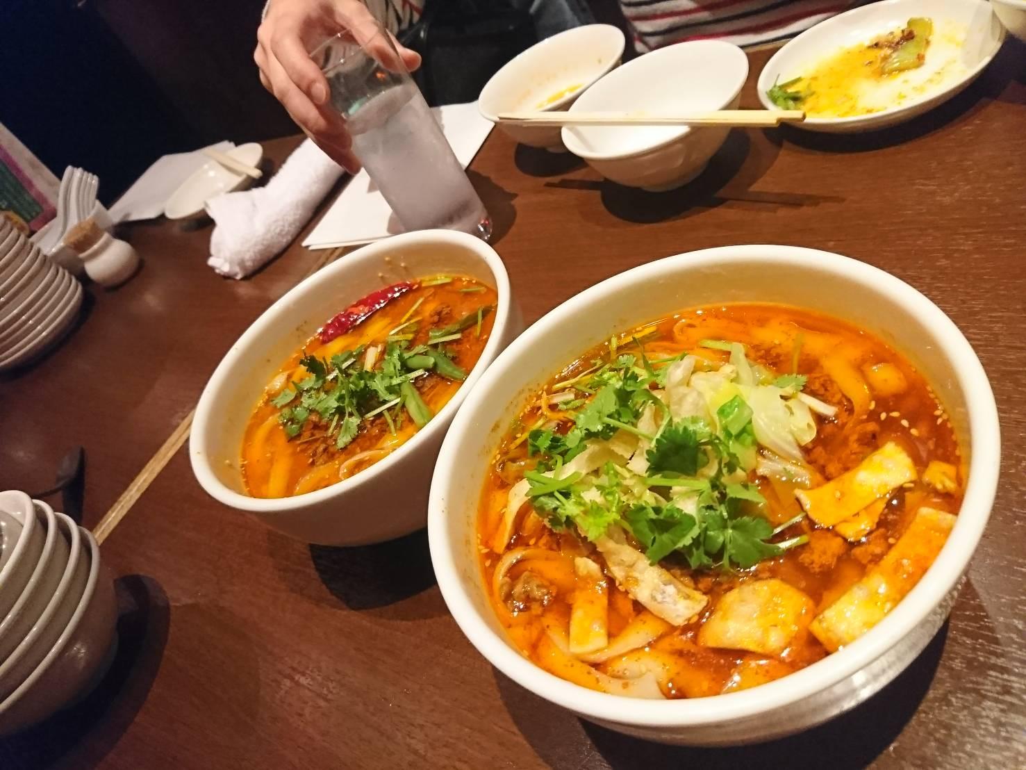中華料理店「西安」新宿駅西口3分のおいしかったメニュー記録