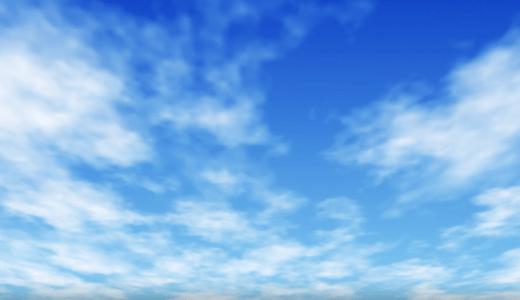 動く雲のアニメーション作ってみた【Aftereffectsトレーニング】