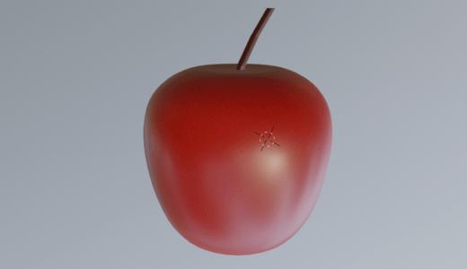 Blender2.8 チュートリアル1個目!!リンゴのチュートリアル