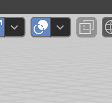 オーバーレイを表示でXYZの座標のマス目を消すことができる