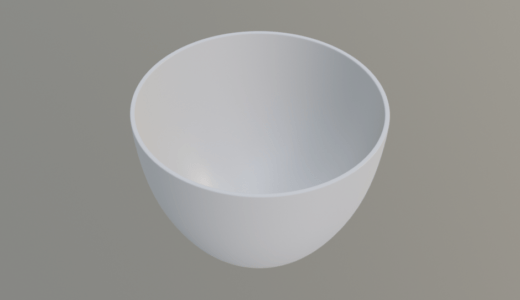 【Blender2.8】コーヒーカップを作る Level3 Part1 ループカット/ソリッド化など