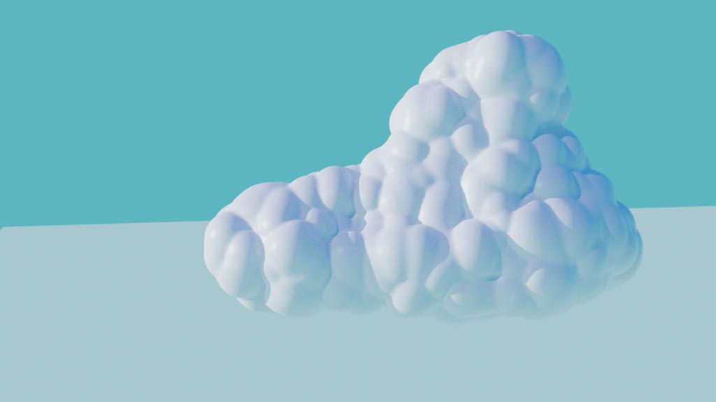 雲のモデリング