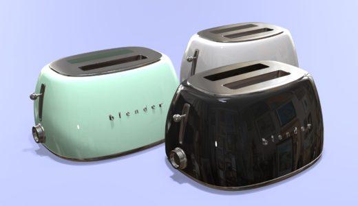 【Blender2.8】トースターを作る