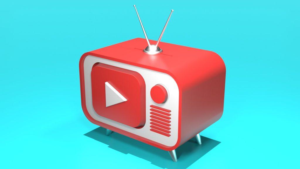 Blender2.8 youtubetv