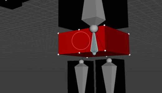 【blender2.9】ロボットでボーンとウェイトペイントを学ぶ