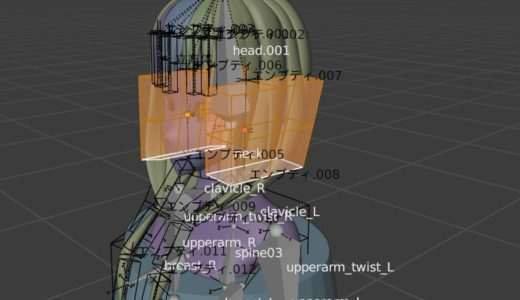 【blender2.9】髪の毛を剛体モデル&物理シュミレーションで動かす part3