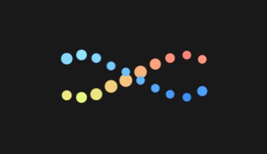 DNAロードアニメーション作ってみた【Aftereffectsトレーニング】
