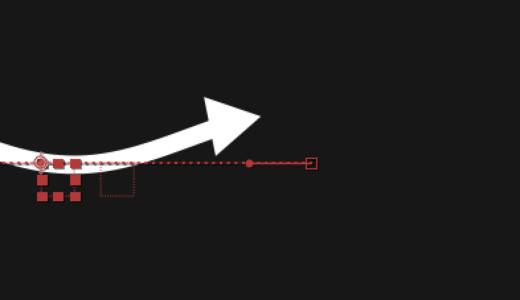 矢印が動くアニメーション作ってみた【Aftereffectsトレーニング】