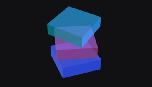 回る3Dキューブのアニメーション作ってみた【Aftereffectsトレーニング】