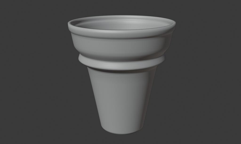 Blender2.8 アイスクリーム
