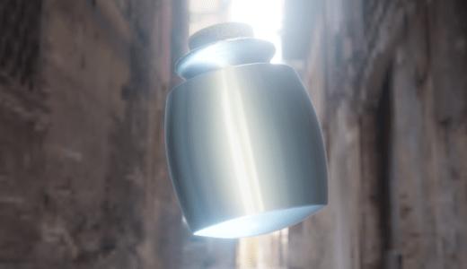 【Blender2.8】空きビンを作りました 面を挿入/ブルームなど