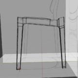 blender2.8 椅子