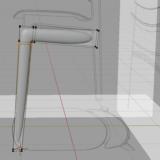 Blender 椅子