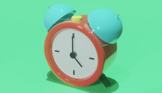 【Blender2.8】時計を作る