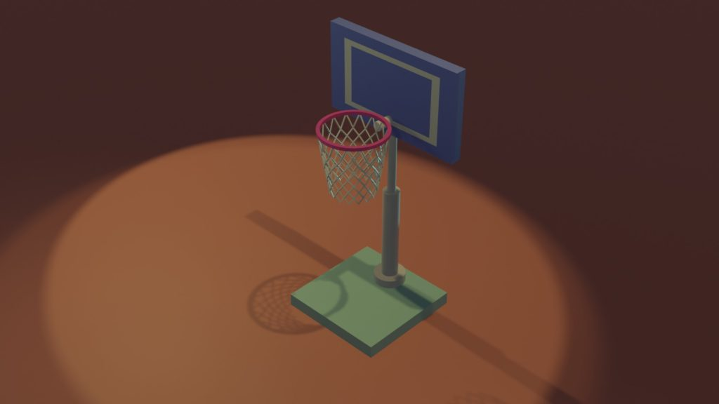 Blender2.8 basketgoal2