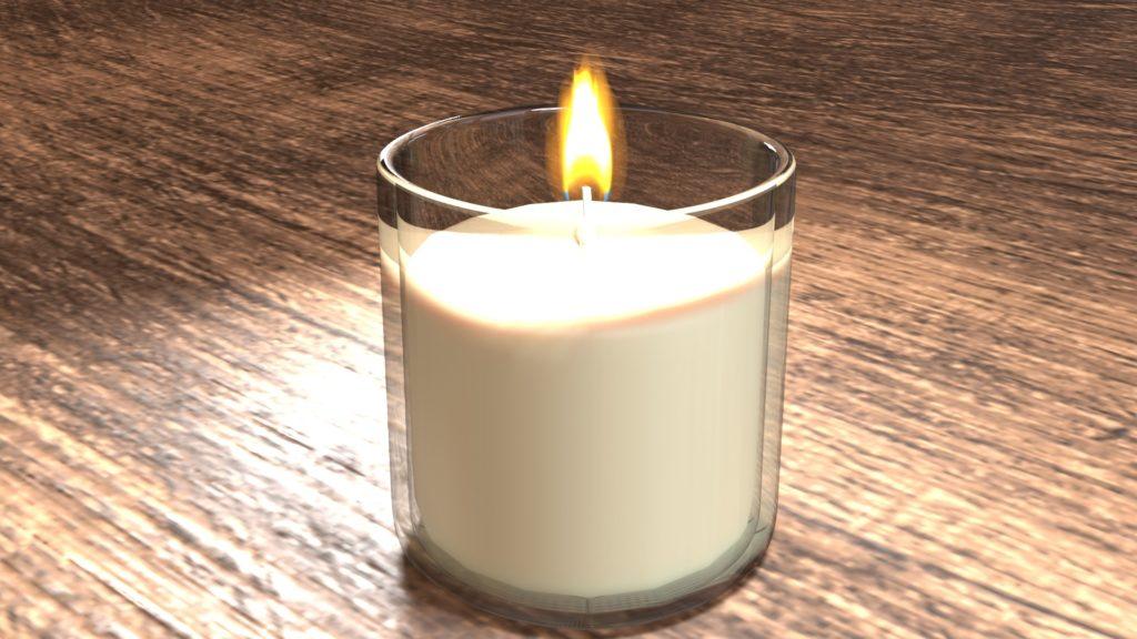 Blender2.8 candle