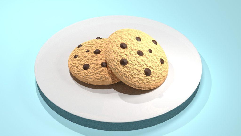 Blender2.8 cookie