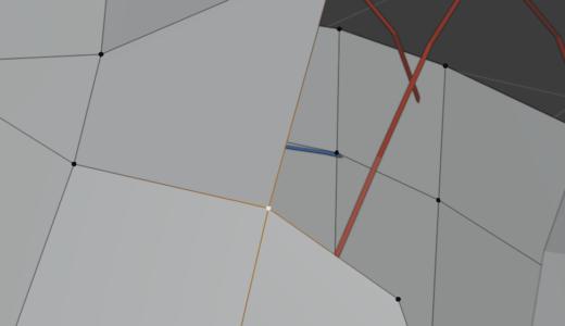 【Blender2.9】F2アドオンで面を貼るhow to