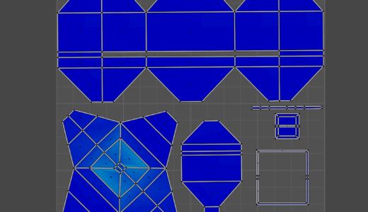 【Blender2.9】忘れちゃったのでUV展開をもう一度勉強しなおし