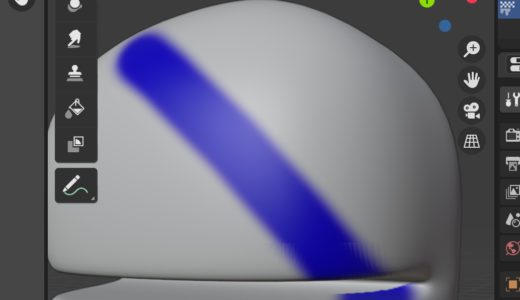 【Blender2.9】テクスチャペイントを再度学び直す