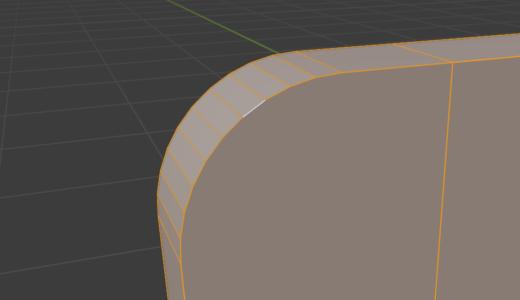 【Blender2.9】ベベルを均等にかけるにはCtrl + A「全トランスフォーム」を使うといい