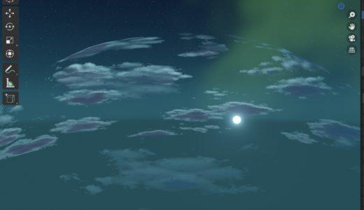 【blender2.8】新海誠のような雲を作成する